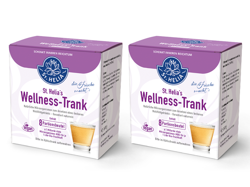 St. Helias Wellness-Trank Zweierpack
