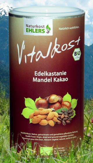 Naturkost Ehlers Vitalkost Kakao-Edelkastanie-Mandel Bio